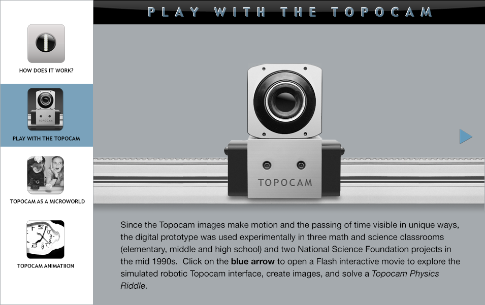 Play with the Topocam
